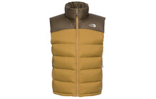 The North Face Men's Nuptse 2 Vest british khaki/coffee brown